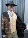 Steve gets creative with this swallowtail coat for time-period events.