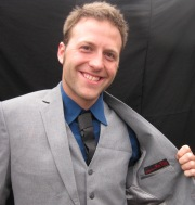 Brian's a returning client...he just can't get enough...here he is in an all-season grey blend that will last for years.