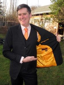 John reveals his inner-tangerine personality.